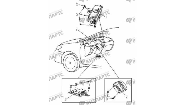 Подушки безопасности BYD F3 (F3R)