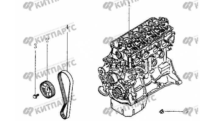 Ремень ГРМ BYD F3 (F3R)