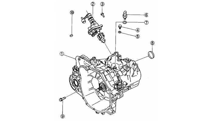 Механизм переключения передач BYD F3 (F3R)