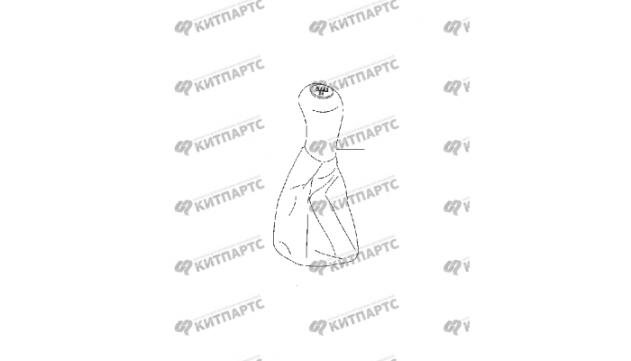 Ручка КПП Chery Amulet (A15)