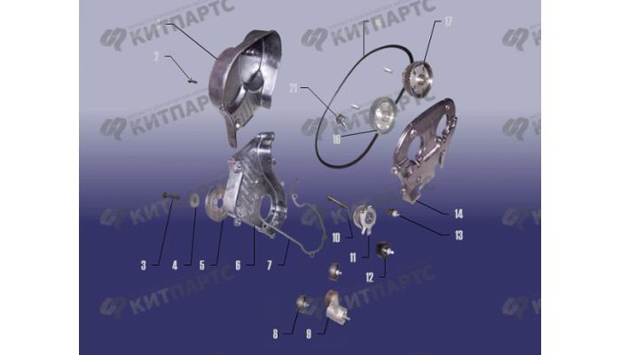 Газораспределительный механизм Chery Fora (A21)