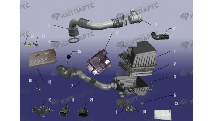 Система фильтрации воздуха Chery Fora (A21)
