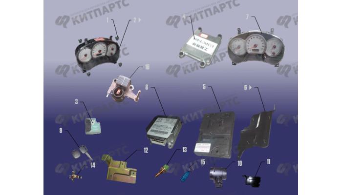 Блок ECU и комбинация приборов Chery Tiggo (T11)