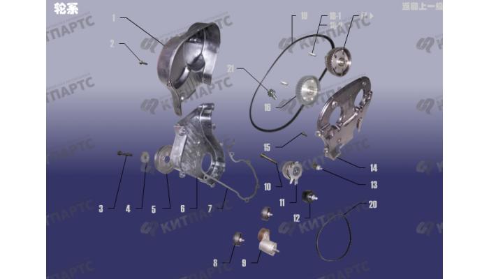 Система охлаждения двигателя Chery Tiggo (T11)