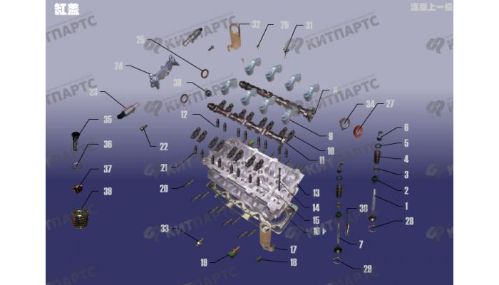 Головка блока цилиндров Chery Tiggo (T11)