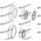Диск колеса сталь