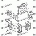 Тормозной механизм передний