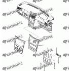 Центральная консоль панели приборов