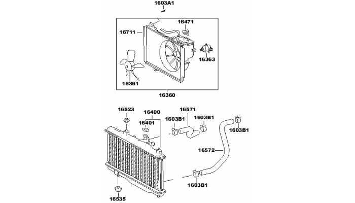 Радиатор охлаждения двигателя FAW V5