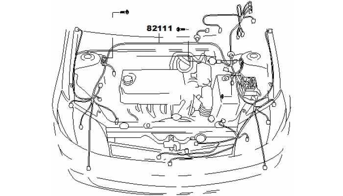 Жгут проводов моторного отсека FAW V5
