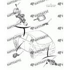 Ключ и личинки замков (хетчбэк)