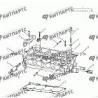 Головка блока цилиндров (1.5 L DVVT)