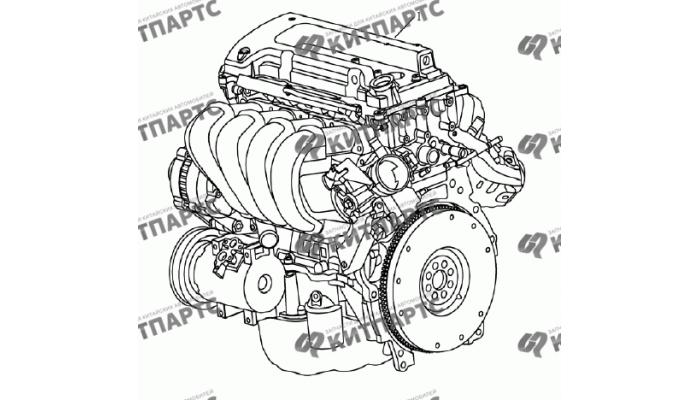 Двигатель в сборе 4G18 (1,8 L) Geely Emgrand (EC7)