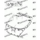 Внутренняя отделка кузова (хетчбэк)