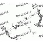 Кронштейн панели приборов МК08
