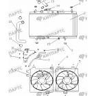 Радиатор охлаждения (МКПП / радиатор спереди)